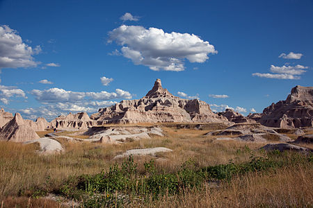 Pinacles and Spires in Badlands National Park
