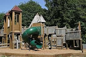Part of the Playground at St. Edward State Park