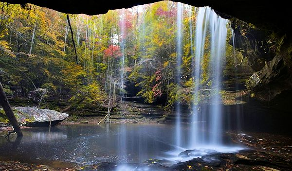 Waterfall in Sipsey Wilderness Area, Alabama