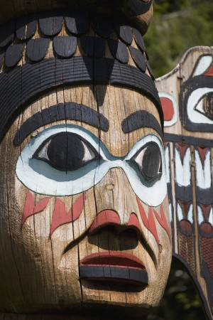 Totem Bright State Historical Park, Ketchikan, Southeast Alaska