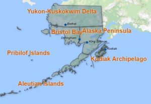 Southwest Alaska Map